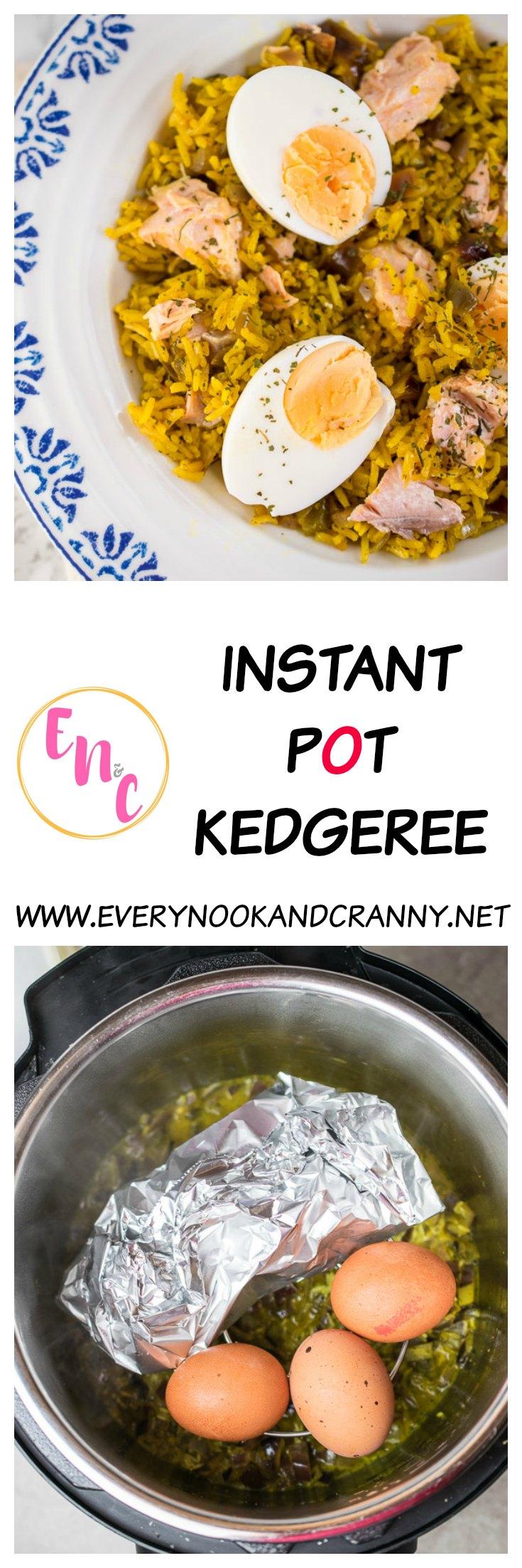 Instant pot kedgeree every nook cranny for Instant pot fish recipes
