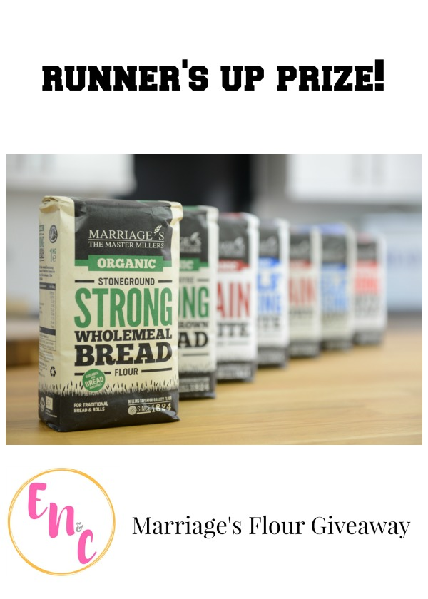 Runner's up prize in the Marriage's Flour Every Nook & Cranny Giveaway!