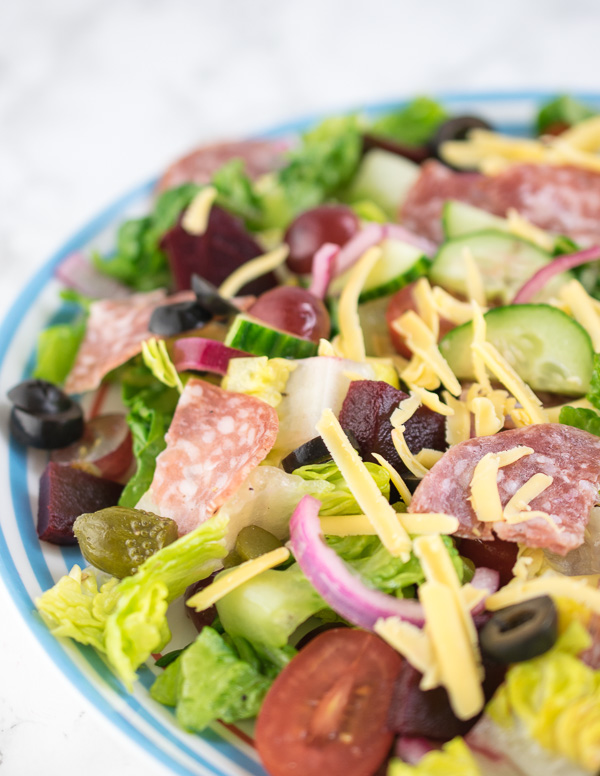 If you enjoy Subway's BMT sandwiches, you'll love this salad!