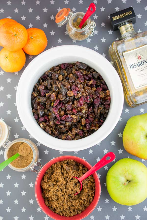 The wherewithal to make your own Amaretto mincemeat in the Instant Pot