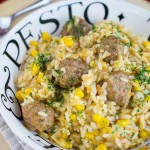 Instant Pot Meatball Risotto