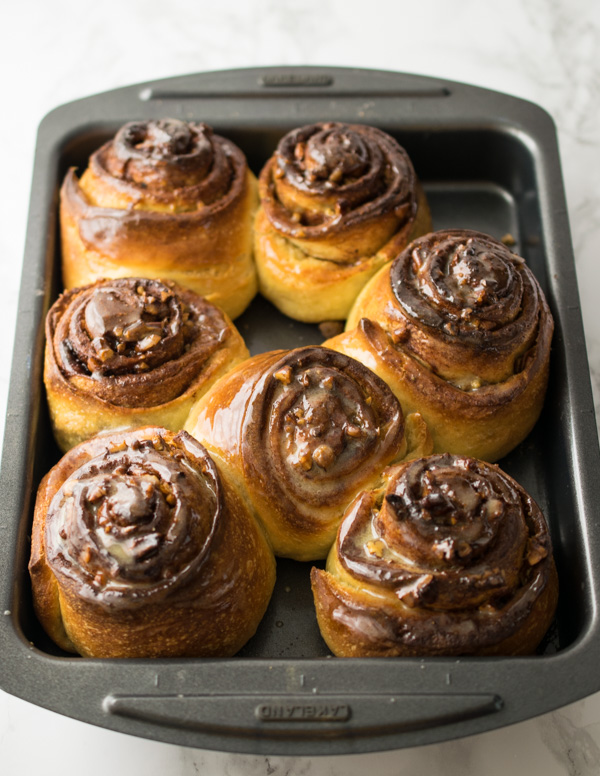 Sticky Maple Pecan Buns