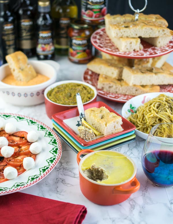 Christmas dips with Ciao Gusto