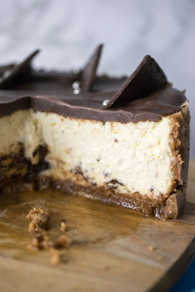 Instant Pot After Eight Cheesecake