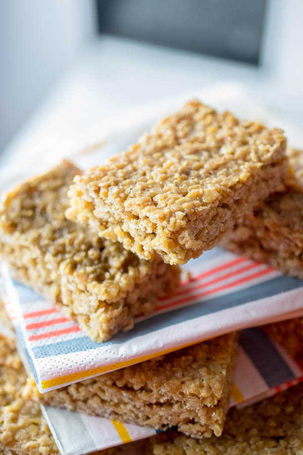 Soft and Chewy Flapjacks by Every Nook and Cranny