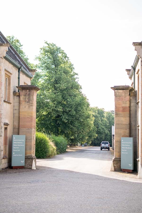 The entrance to the School of Artisan Food