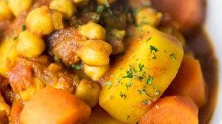 Instant Pot Persian Chickpea Stew