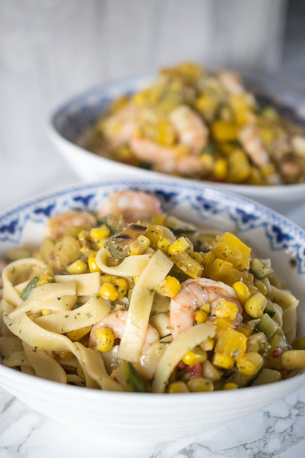 Garlic & Chilli Prawn Tagliatelli