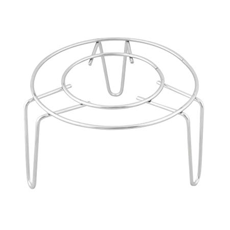 Sourcingmap Metal Steamer Rack Stand Kitchen Cooking 3 inch High