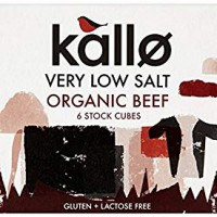 Kallo Foods Organic Beef Stock Cube 48 g (Pack of 5)