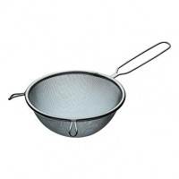 "KitchenCraft Medium-Small Stainless Steel Sieve, 16 cm (6.5"")"