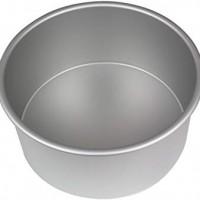 PME Anodised Aluminium Round Cake Pan 8 x 4-Inch Deep