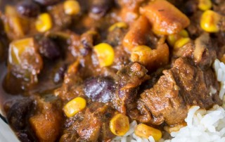 Instant Pot Chunky Chilli