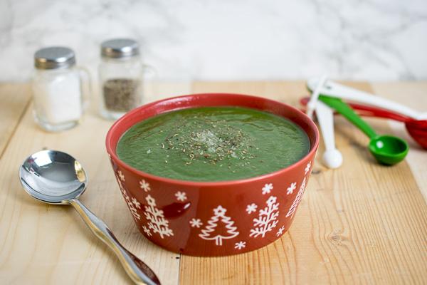 Instant Pot Spinach & Parsnip Soup