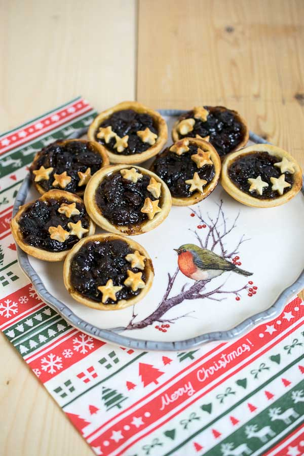 Mince Pies with Cream Cheese Pastry - Low Syn!