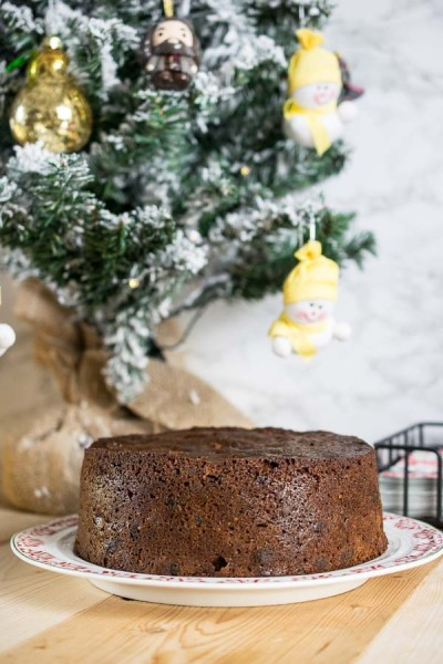 Dark & Rich Christmas Cake